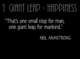 1 Giant Leap - Happiness