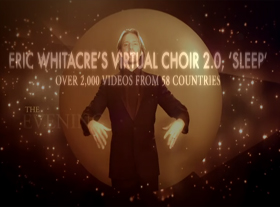 Eric Whitacre - Eric Whitacre s Virtual Choir 2.0, Sleep