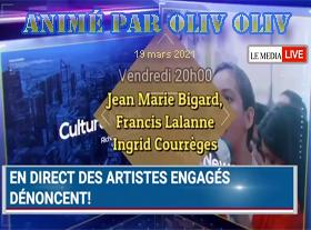 Oliv Oliv - Des Artistes dénoncent !