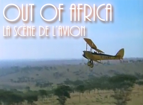 Out of Africa - La scène de l avion