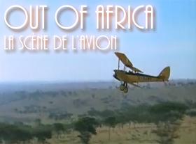 Out of Africa - La scène de l avion