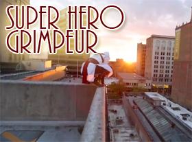 Super Héros Grimpeur