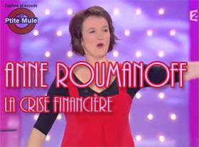 Anne Roumanoff : La crise financière