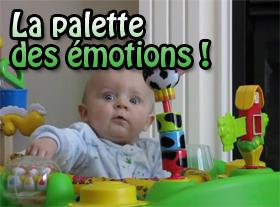 La palette des émotions !