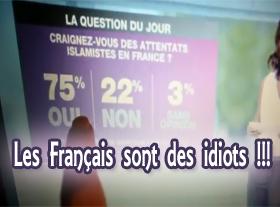 Les Français sont des idiots !