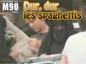 Dur dur, les spaghettis
