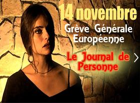 Le 14 novembre 2012 - Grève Générale Européenne