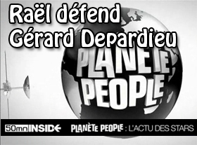 Raël défend Gérard Depardieu