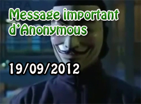 MESSAGE IMPORTANT d Anonymous