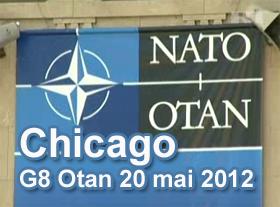 Chicago G8 Otan 20 mai 2012