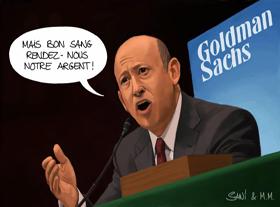 Le travail diabolique de la banque Goldman Sachs. Comment Wall Street affame le monde !