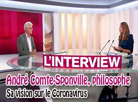 André Comte-Sponville, philosophe - Sa vision du Coronavirus