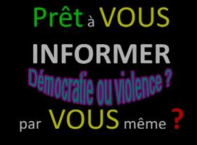 Démocratie ou violence ?