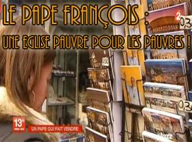 Le pape François : Une Eglise pauvre pour les pauvres !