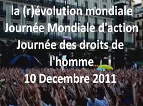 10 décembre 2011, journée de la Déclaration des Droits de l Homme
