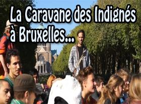 La Caravane des Indignés à Bruxelles