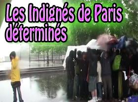 Les Indignés de Paris déterminés !