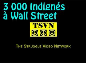 3 000 Indignés à Wall Street
