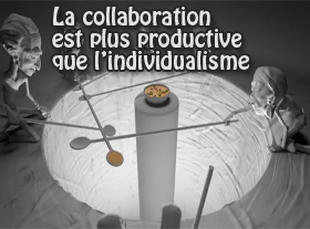 La collaboration est plus productive que l individualisme