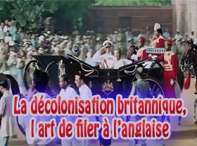 La décolonisation britannique l art de filer à l anglaise