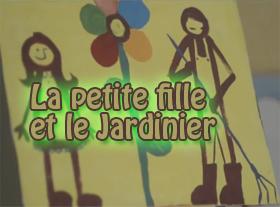 La petite fille et le jardinier