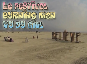 Le Festival Burning Man vu du ciel