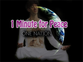 One Nation - One Minute for Peace