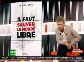 Mathieu Laine - Il faut sauver le Monde Libre