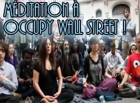 Méditation à Occupy Wall Street