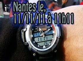 Nantes le 11/11/11 à 11h11