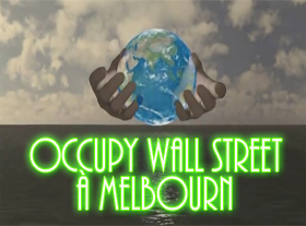 Occupy Wall Street - Melbourn