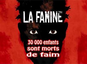 Mobilisation contre la Famine