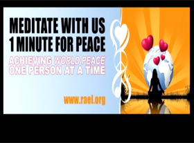 One Minute For Peace