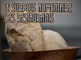 Le surplus alimentaire des restaurants