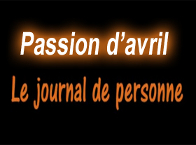 Le Journal de Personne - Passion d Avril