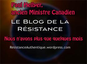 Paul Hellyer - Nous n avons plus que quelques mois