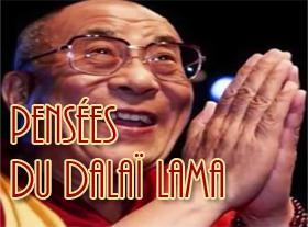 Pensées du Dalaï Lama
