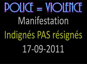 La France un pays libre ? La police non-violente ?