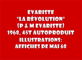 Evariste - La Révolution 1969
