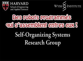 Des robots programmés qui s assemblent entres-eux !
