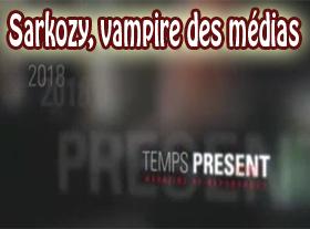 Sarkozi, vampire des Médias
