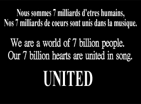 United - 7 milliards d etres humains !