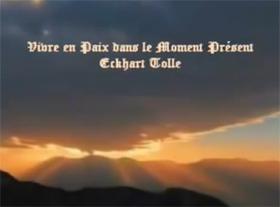 Vivre en paix avec le moment présent - Echkart Tolle