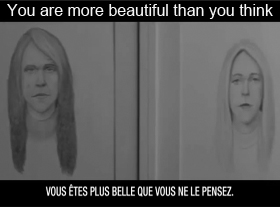 Vous êtes plus belle que vous ne le pensez