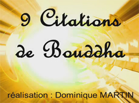 9 citations de Bouddha