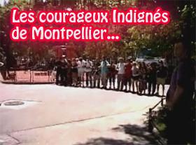 Les courageux indignés de Montpellier