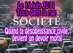 Quand la désobéissance civile, devient un devoir moral