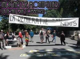 Indignés de Montpellier, ça ne fait que commencer