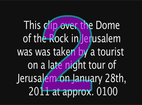 Ovni sur Jerusalem | 2