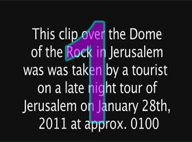 Ovni sur Jerusalem